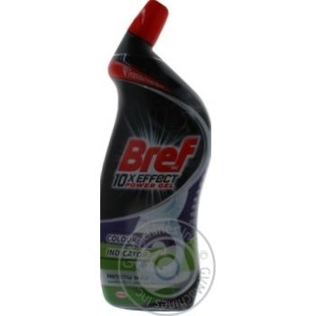 Bref Power 10in1 Gel for cleaning and disinfection of toilets Full protection 700ml - buy, prices for Novus - image 3