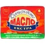 Масло Білоцерківське Экстра сладкосливочное 82,5% 180г