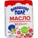 Масло Волошкове поле Экстра сладкосливочное 82,5% 200г