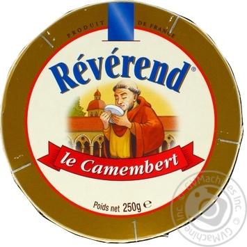 Сыр Reverend Камамбер мягкий 45% 250г