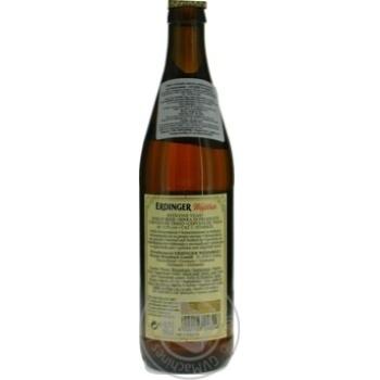 Пиво Erdinger пшеничное светлое 0,5л - купить, цены на Novus - фото 5