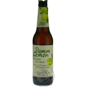 Estrella Damm Lemon Light Beer 3,2% 0,33l - buy, prices for Auchan - photo 2
