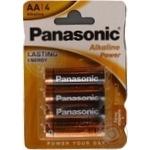 Батарейки Panasonic LR6 Alkaline Power AA 4шт