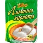 Лимонная кислота Деко 90г
