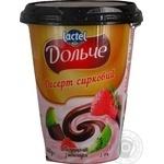 Десерт Дольче Клубника-киви с шоколадом 3,4% 400г