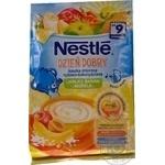 Каша молочная Nestle рис кукуруза с яблоком банан абрикос 230г