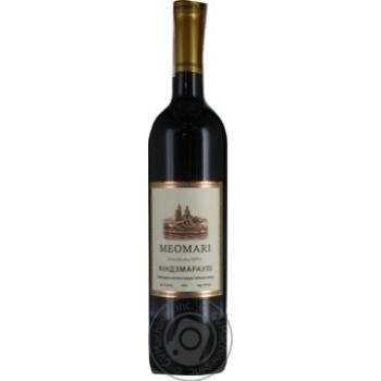 Meomari Kindzmarauli red semi-sweet wine 12% 0,75l