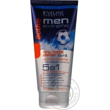 Гель Eveline Cosmetics Men extreme после бритья 5в1 200мл