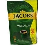 Кофе Jacobs Monarch растворимый сублимированный 250г
