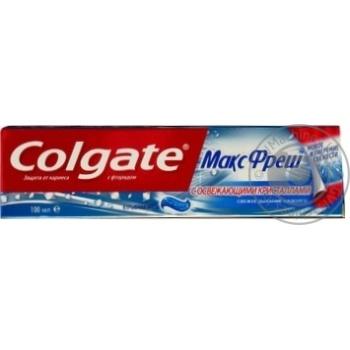 Зубная паста Colgate Макс Фреш Взрывная мята 100мл - купить, цены на Фуршет - фото 8