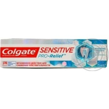 Colgate Sensitive Pro-Relief Toothpaste for Sensitive Teeth 75ml - buy, prices for Furshet - image 5