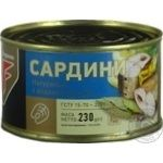 Flagman Sardines in oil 230g