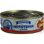 Нототения Аквамарин с овощами в томатном соусе 230г - купить, цены на Novus - фото 1