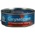 Скумбрия Ventspils в томатном соусе 240г