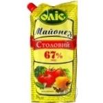 Olis Stolovyy mayonnaise 67% 560g