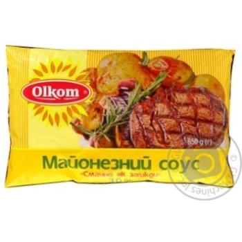 Майонезный соус Олком Смачно як завжди 30% 650г