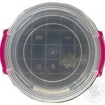 Контейнер харчовий круглий Ал-Пластик 1,2 л