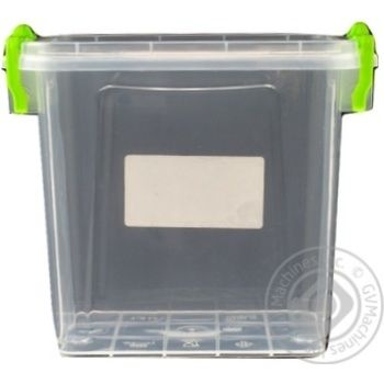 Premium №2 Food container high with lid 161X112X145mm 1,4l - buy, prices for Auchan - photo 5