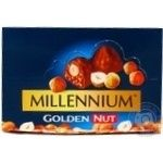Chocolate milky Millenium with whole nuts 40g