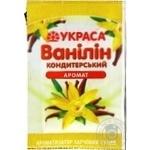 Vanillin Ukrasa for baking 1.5g