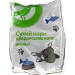 Сухий корм Ашан для дорослих котів рибний 400г - купити, ціни на Ашан - фото 2