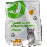 Auchan Dry cats food with chicken 400g