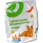 Auchan Dry Сats Food With Meat 400g