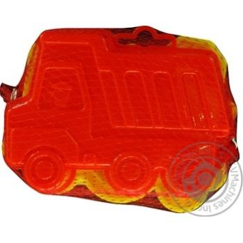 Набір для піску Полісся форми самоскид-паровоз 2шт - купить, цены на Novus - фото 1