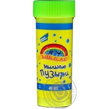 Игрушка Bubbleland Пузыри мыльные 40мл EK01V шт
