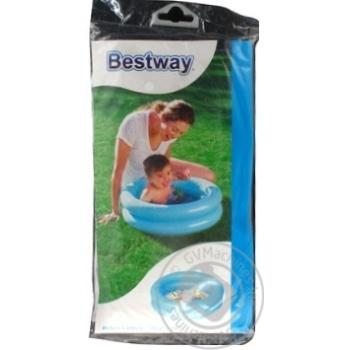 Басейн надувной Bestway 61x15см 21л - купить, цены на Фуршет - фото 1
