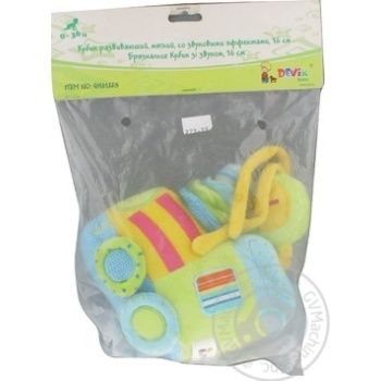 Devik Rattle Musical Train Toy 21cm - buy, prices for Furshet - image 1