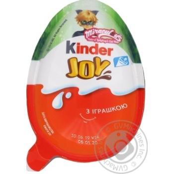 Шоколад Киндер Джой Винкс Т24х1