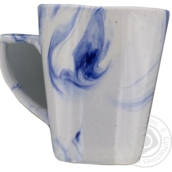 Чашка Marizel радуга кобальт CAP676 350мл - купить, цены на Фуршет - фото 3