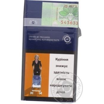 Сигареты Rothmans Demi Silver - купить, цены на Фуршет - фото 2