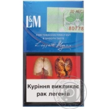 Сигареты L&M Loft Blue - купить, цены на Фуршет - фото 2