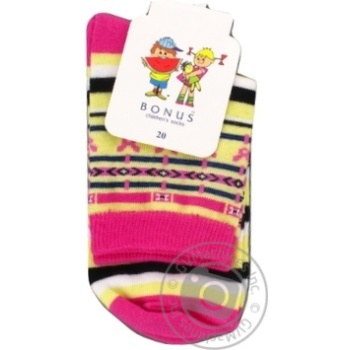 Шкарпетки дит. Bonus 2 2379 482 20