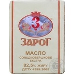 Масло сладкосливочное Зарог Экстра 82,5% 200г