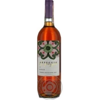 Вино Розе Arpeggio Settes розовое сухое 0.75л - купить, цены на Фуршет - фото 1