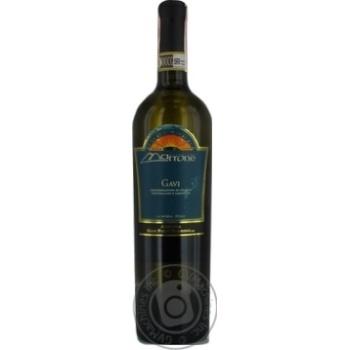 Вино Marrone Gavi DOCG белое сухое 12,5% 0,75л - купить, цены на Фуршет - фото 5