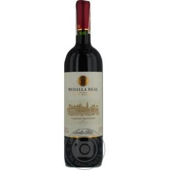 Вино Каберне-Сов. Корол медаль красное сухое 0.75л