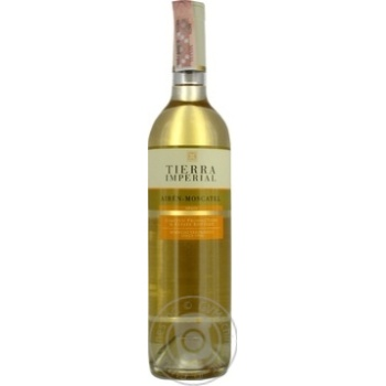 Wine Ayren Moskatel T.Imp white dry 0.75l - buy, prices for Furshet - image 1