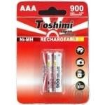 Акумулятор Toshimi AАA NiMn 900mAh 2шт