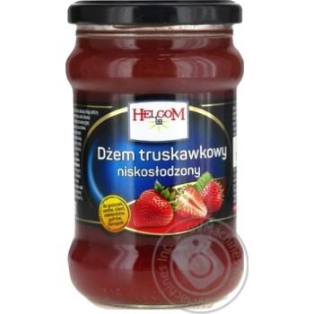 Strawberry jam Helcom 320g - buy, prices for Furshet - image 1