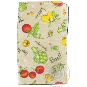 Полотенце кухонная Меломан вафельный 60x35cm - купить, цены на Фуршет - фото 2