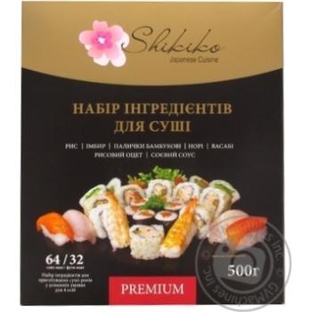 Набор ингредиентов Shikiko для суши 500г - купить, цены на Фуршет - фото 1