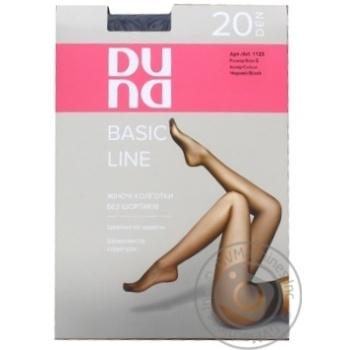 Dune Women's Tights Black 20D Size 3 1123 - buy, prices for Furshet - image 1