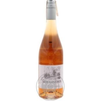 Вино P. Dumontet LA MOULINERIE розовое сухое 0.75 - купить, цены на Фуршет - фото 1