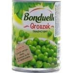Canned peas BONDUELLE 400g