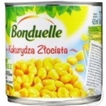 Vegetables corn Bonduelle canned 340g can