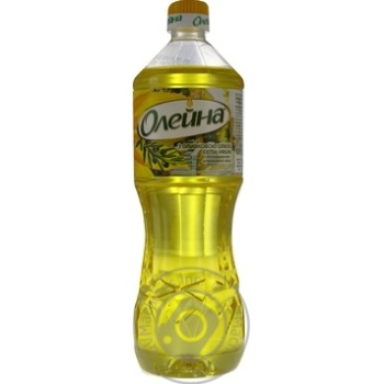 Oil Oleina sunflower-olive 870ml plastic bottle